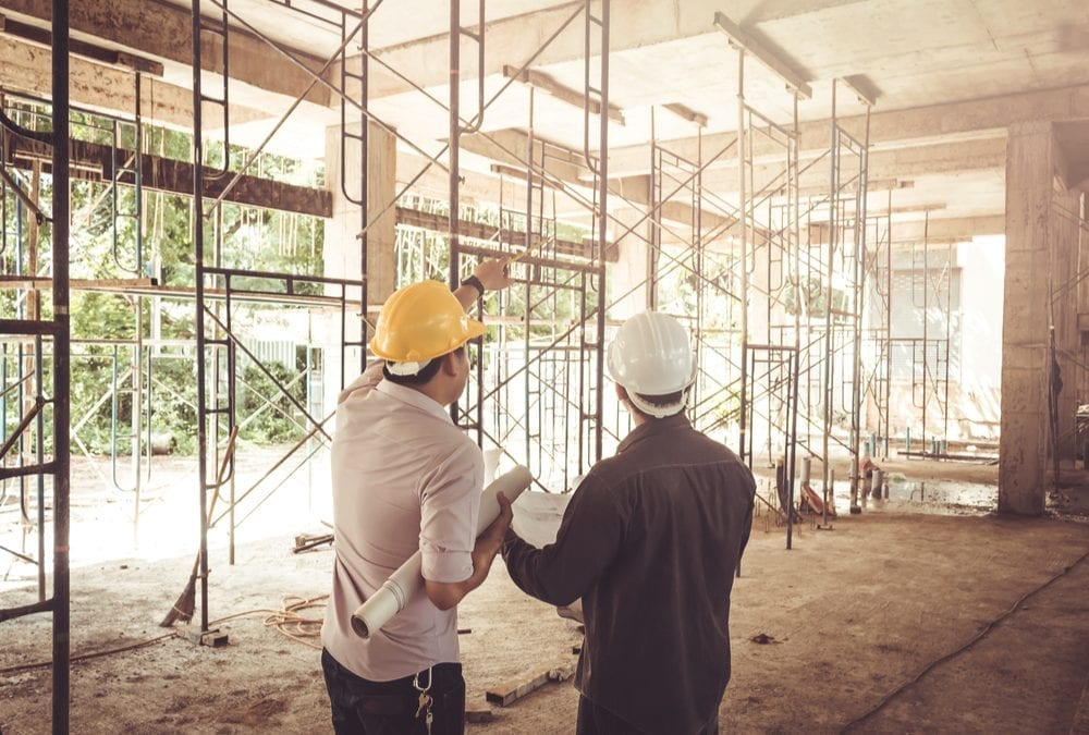 building under construction insurance