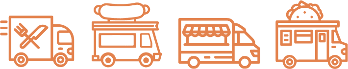 Five food truck types